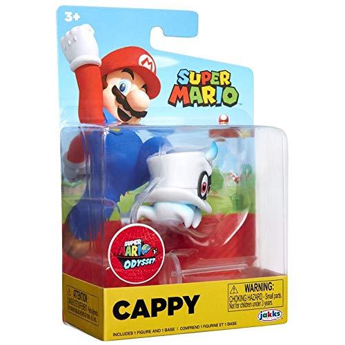Super Mario Figur Cappy - Spiel und Sammelfigur aus der World of Ninendo Figur ca 7 cm