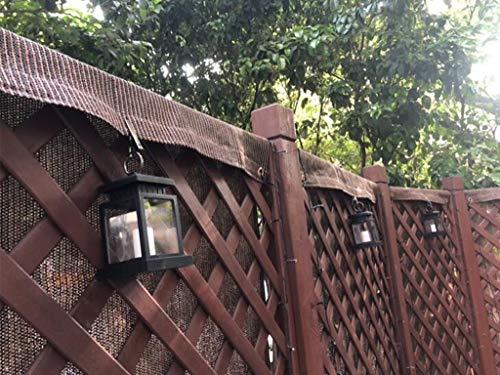 LIUNA Pantalla De Privacidad De Balcón para Valla De Patio Trasero, Piscina, Terraza, Patio, Paneles para Exteriores Y Pantallas para Exteriores(Size:1.1x3m,Color:marrón)