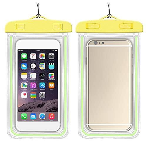 ZENING Impermeable clave teléfono caso impermeable bolsa impermeable bolsa seco bolsa teléfono bolsa para deportes acuáticos deportes al aire libre