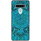 Skinit Clear Phone Case Compatible with LG Stylo 6 Originally Designed Blue Zen Design