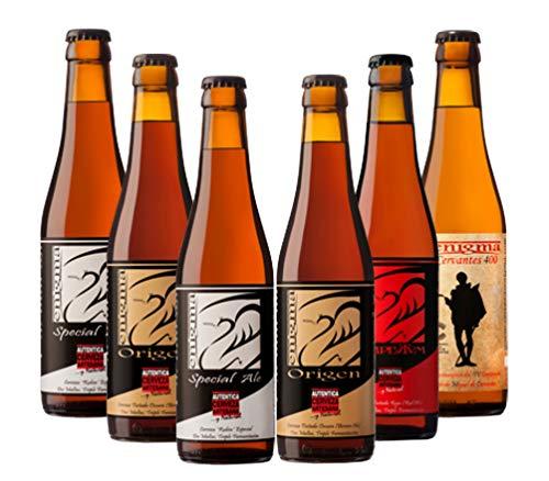 Cervezas Enigma - Pack Degustación - 6 botellas x 0,33 L