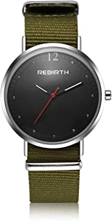 Docooler Rebirth Fine Quality Movement Square Watch for Both Men and Women Quartz Watches Green+Black