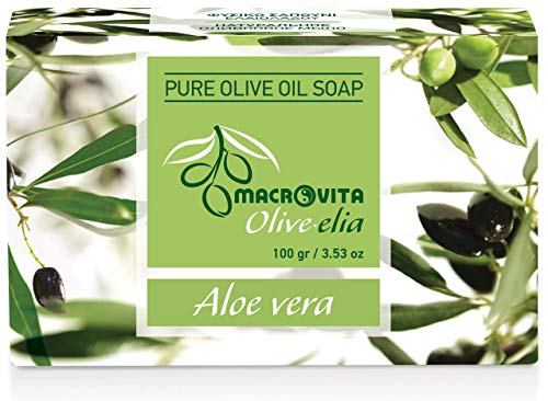 Olive-elia Pure Olijfoliezeep Aloë Vera