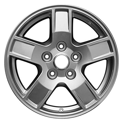 Partsynergy Replacement For New Aluminum Alloy Wheel Rim 17 Inch Fits 2005-2007 Jeep Grand Cherokee 127mm 5 Spokes