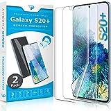 Power Theory Schutzfolie für Samsung Galaxy S20 Plus [2 Stück] - [KEIN Glas] 3D Nano-Tech Panzerglasfolie, Panzerglas Folie, 100prozent Fingerabdrucksensor, Einfache Installation, Bildschirmschutz Panzerfolie