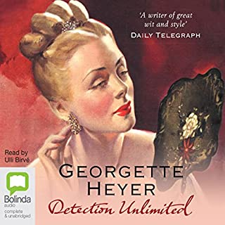Detection Unlimited audiobook cover art