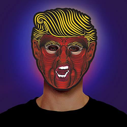 Morph mascarillas con luz LED para adultos, Presidencial, Talla única
