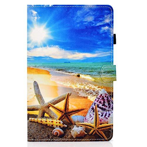 zl one Compatible con/reemplazo para Tablet PC Samsung Galaxy Tab S7 11 'SM-T870/T875 2020 liberación PU cuero Flip Cover Stand Magnetic Wallet Case (Cielo)
