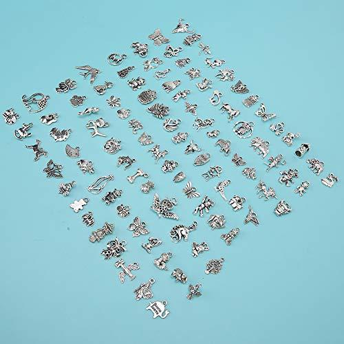 Aleación de plata profunda DIY Colgantes Accesorios, Aleación Hecho de calidad Material de aleación electroplastia