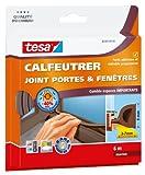 Tesa 05393-00113-00 - Burlete para puertas y ventanas (6 m x 9 mm x 8 mm)