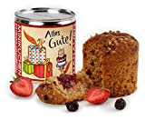Hanauer Minikuchen Erdbeer-Cranberry 'Alles Gute', 1er Pack (1 x 170 g), 915