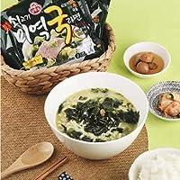 新商品 オットギ わかめラーメン 4袋 韓国バカ売れ ご飯を入れたくなるスープで爆発的人気 ユーチューブ大絶賛 韓国 食品 食材 料理