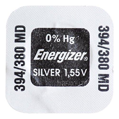 Energizer 394 SR936SW SB-A4 Uhrenbatterie, Silberoxid, 1,55 V, Blisterverpackung