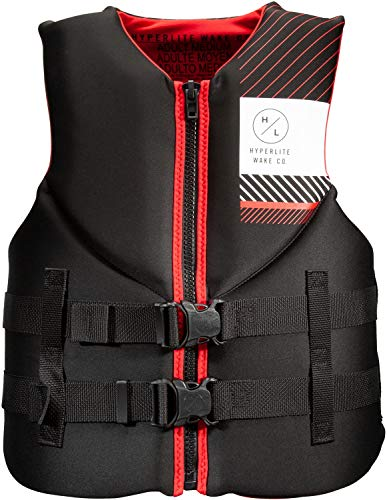 Hyperlite Indy CGA Wakeboard Vest Mens Sz XXL Black/Red