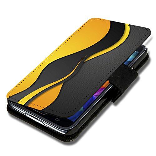 Wicostar–Funda Case Funda Carcasa diseño Funda para Samsung Galaxy S4Mini I9190/I9195–auswahl49Diseño Selección, Dise�o 7 (Azul) - SB-Book V49