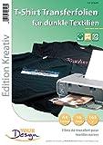 Your Design Transferpapier: 16 T-Shirt Transferfolien für bunte Textilien A4 Inkjet (T Shirt Druck...