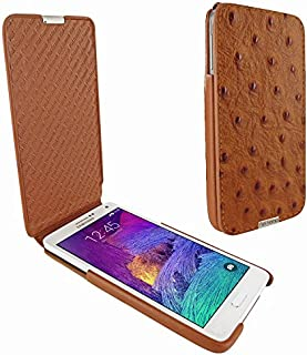 Piel Frama 699 iMagnum Tan Ostrich Leather Case for Samsung Galaxy Note 4