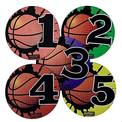 Murray Sporting Goods Basketball Training Shot Markers, Pack of 5