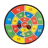 Fun Toys 10093–Bersaglio 37cm con Velcro, Gioco Freccette Velcro Parabrezza, palloni, frecce