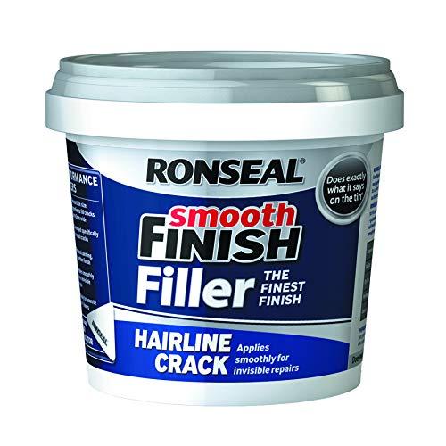 Ronseal Smooth Finish Filler for Hairline Cracks (600g)