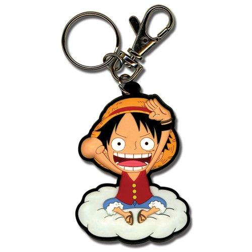 One Piece Monkey D. Luffy Porte-clés Original et Officiel avec Livraison Gratuite