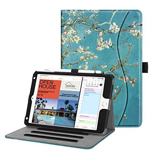 Fintie Case for iPad Mini 5 2019 / iPad Mini 4 - [Corner Protection] Multi-Angle Viewing Smart Folio Cover w/Pocket, Pencil Holder, Auto Wake/Sleep for iPad Mini 5th Generation 7.9