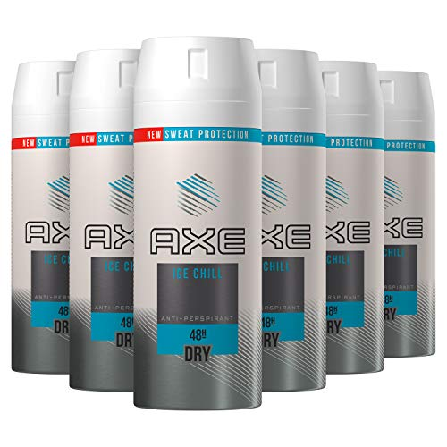 Axe Ice Chill Anti-Transpirant Deo 6x150 ml