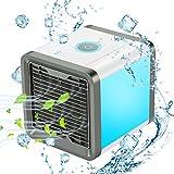G&M only 3-en-1 USB Aire Acondicionado Móvil Ventilador, Humidificador, Purificador de Aire para Casa,Oficina
