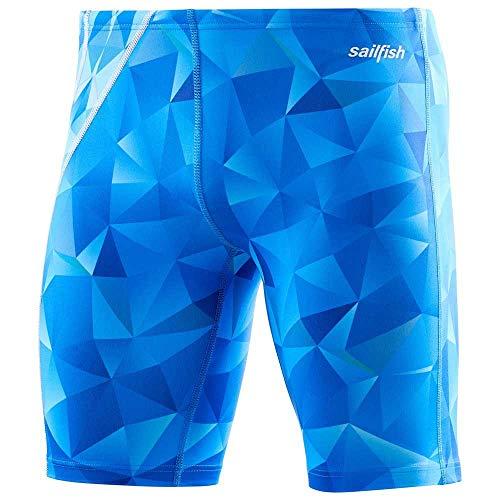 Sailfish Herren-Badehose, quadratisch, Blau (XXL)