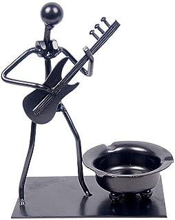 Ash Tray Ashtray Electric Guitar Ashtray Iron Art Smoking Accessories Gift for Boyfriend Ashtrays Creative Home Gadgets Ci...