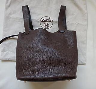 (エルメス) HERMES バッグ ピコタンMM ハンドバッグ トリヨン ショコラ L刻印 h16-3073 中古