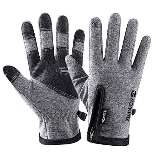 kekison Handschuhe Damen Herren Touchscreen Winter Wärme Winterhandschuhe wasserdicht Winddicht Fahrradhandschuhe Baumwolle Arbeitshandschuhe