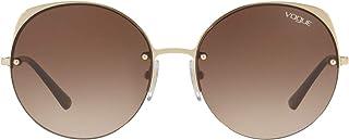 VOGUE Women's 0VO4081S 280/76 55 Sunglasses, Gold/Dark Violet