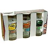 P: OS E560068 Gläserset 3er Cars, Glas, Transparent, cm, 30.4 x 16 x 10.8 cm, 3 Einheiten