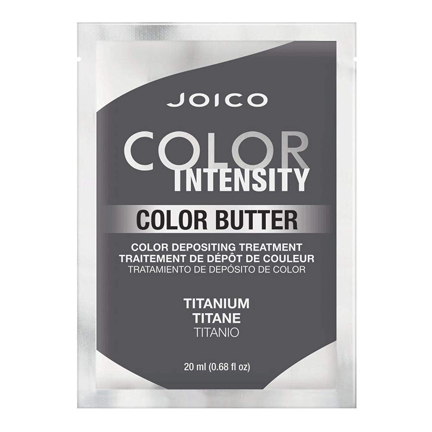 極貧恐ろしい社会Joico 色強度色バター - チタン0.68オンス チタン
