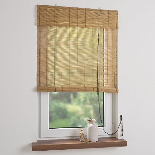 Liedeco Bambus-Rollo 100 x 160 cm, kirschbaum