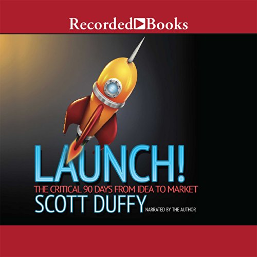Launch! audiobook cover art