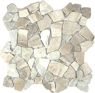 Mixed Quartz Mosaic Tile Sample