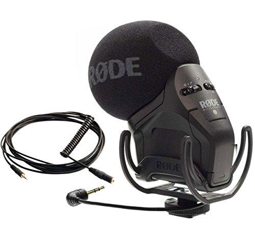 Rode VideoMic Pro SVMP–Micrófono estéreo + VC1Cable