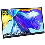 Portable Monitor 4K, Corkea 14' Inch 3840×2160 UHD 100% Adobe RGB,10 Bit Color,...