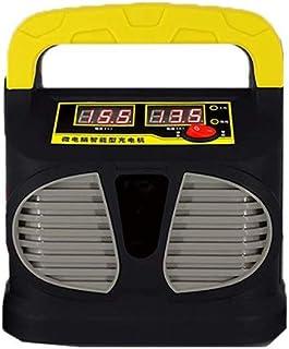 Bil Smart Batteriladdare 12V24V Pulshållare Batteriladdare Motorcykel Batteriladdare (gul)