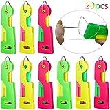 Dispositivo automático de enhebrado de agujas WENTS 20PCS agujas de mano autoenhebradas fácil de usar y transportar ayuda a resolver el problema frustrante de la aguja Apto para niños jóvenes