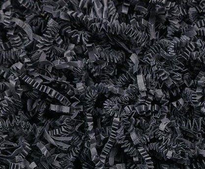 Papier-Füllmaterial für Geschenke oder Deko - 500 gr (schwarz)