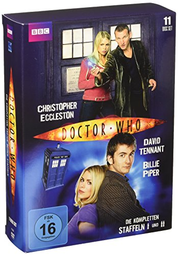 Doctor Who - Die kompletten Staffeln 1&2 [11 DVDs]