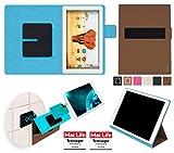 reboon Hülle für Archos 101 Magnus Tasche Cover Case Bumper | in Braun | Testsieger