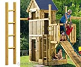 bambus-discount.com Holzleiter für Spielturmerweiterung, 150cm - Kinderspielgeräte für Garten,...