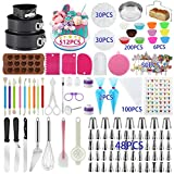 Cake Decorating Supplies, 512 Pcs Docgrit Cake Decorating Kit with...
