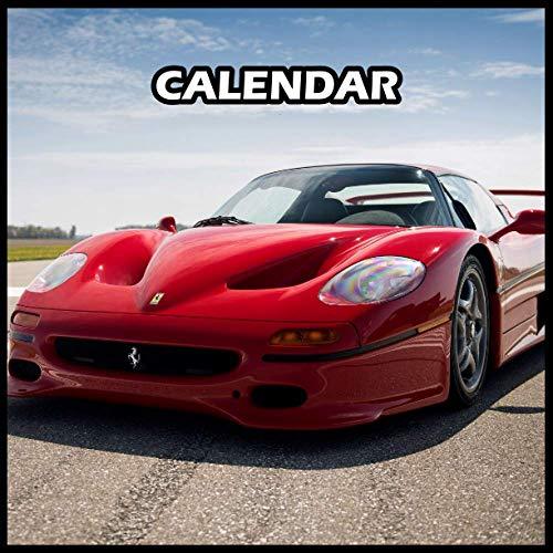 Ferrari F50 Calendar 2022 Planner Journal