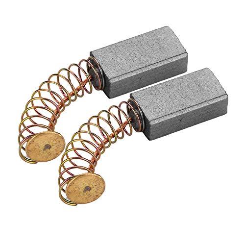 Juego de escobillas de carbón, escobillas de carbón para motor, 15 * 8 * 5 mm para taladro percutor Un uso prolongado Fácil de instalar Reemplazo de escobillas de carbón