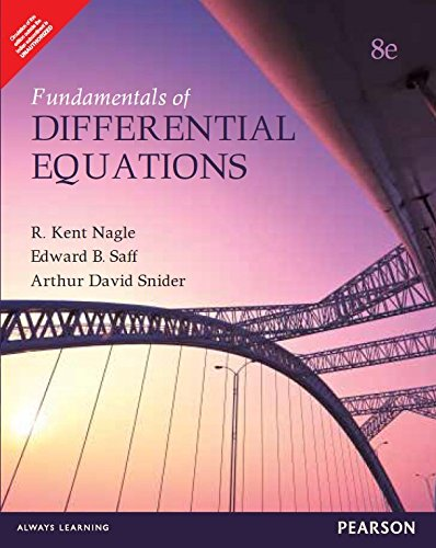 Price comparison product image Fundamentals Of Differential Equations,  8 / E